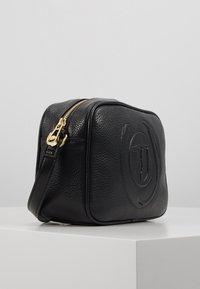 Trussardi Jeans - FAITH CAMERA CASE - Across body bag - black - 4
