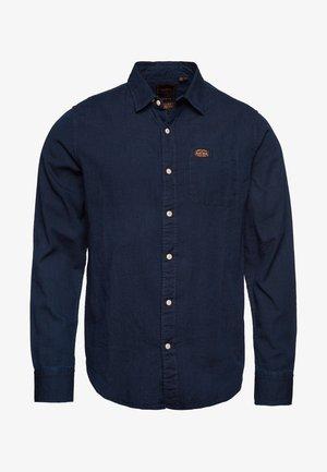 Shirt - indigo stripe