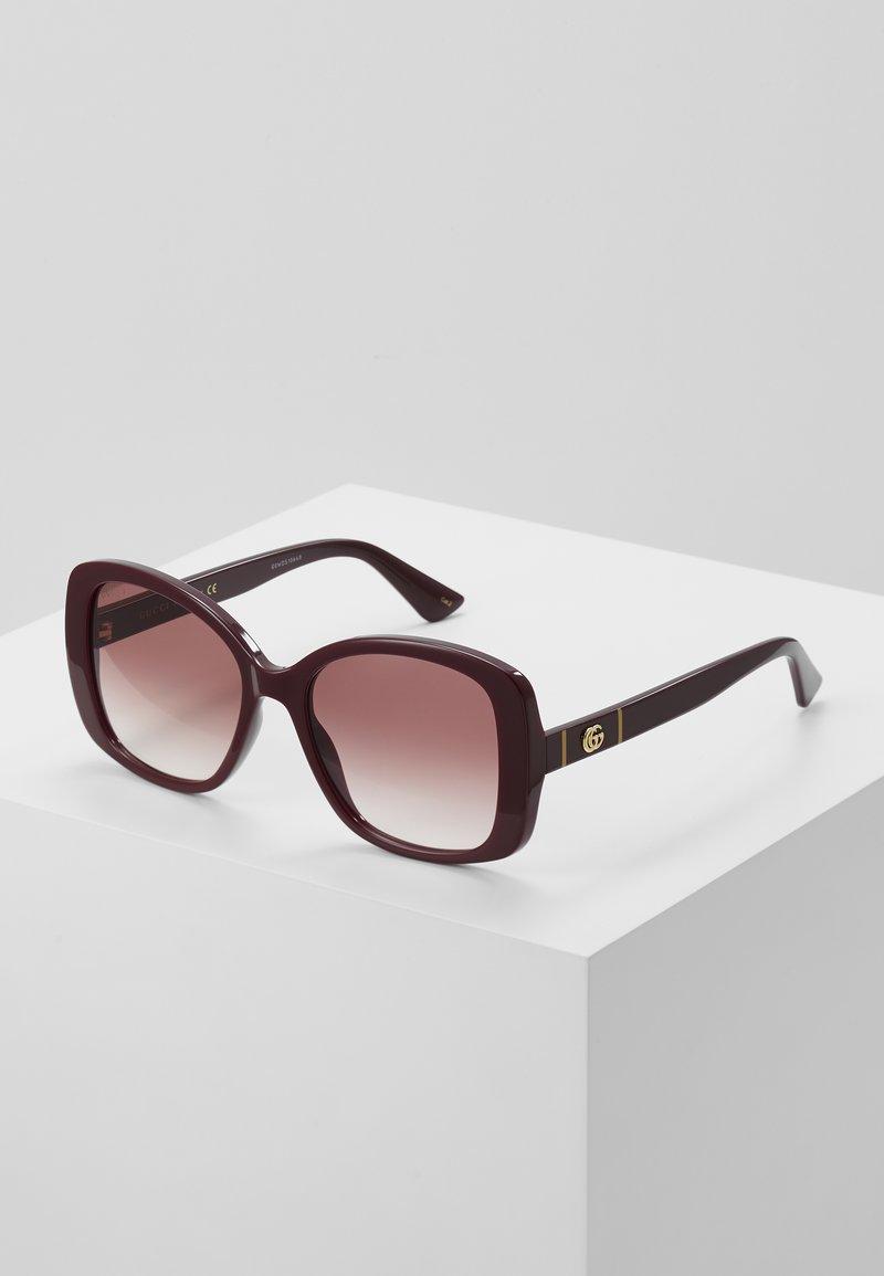 Gucci - Okulary przeciwsłoneczne - burgundy