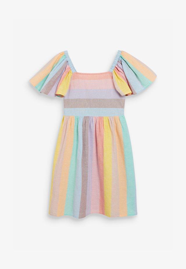 RAINBOW  - Korte jurk - multi-coloured