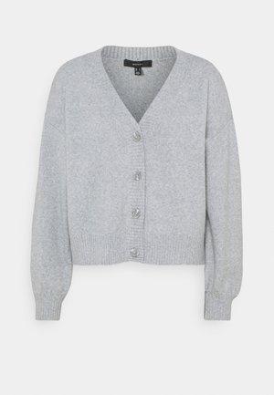 VMDOFFY LS - Neuletakki - light grey melange