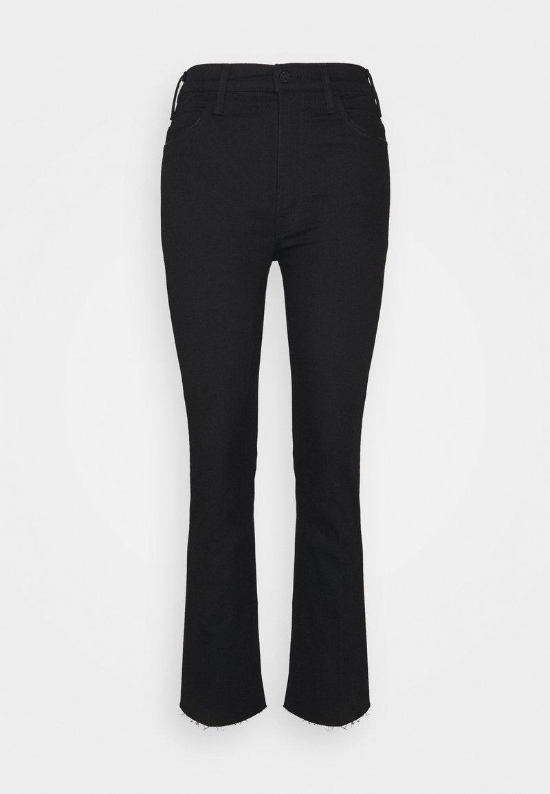 Mother - THE HUSTLER ANKLE FRAY - Jeans Skinny Fit - black