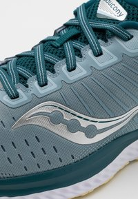 Saucony - GUIDE 13 - Stabilty running shoes - mineral/deep teal - 5