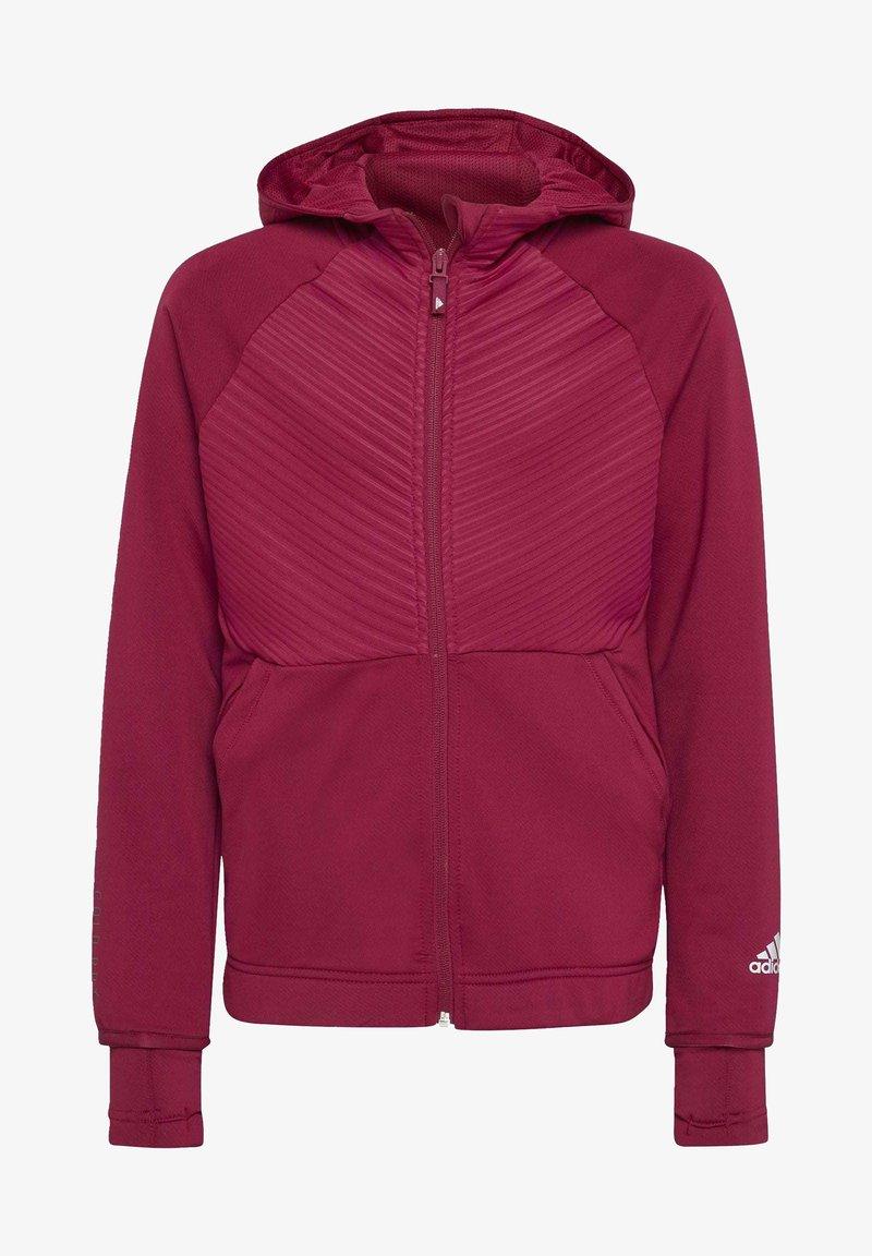 adidas Performance - Zip-up hoodie - powber/msilve