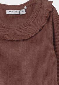Name it - NBFRYLVA/NBFRANDI  - Pyjamashirt - maroon - 3