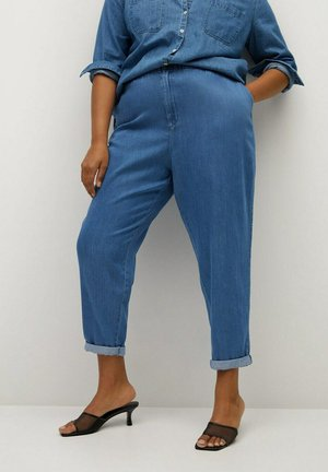 NAIROBI - Kalhoty - mittelblau