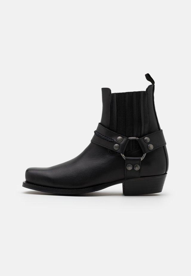 BIADALEN CHELSEA BOOT - Cowboystøvletter - black