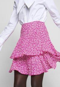 Diane von Furstenberg - MARGAUX - Áčková sukně - pink - 4