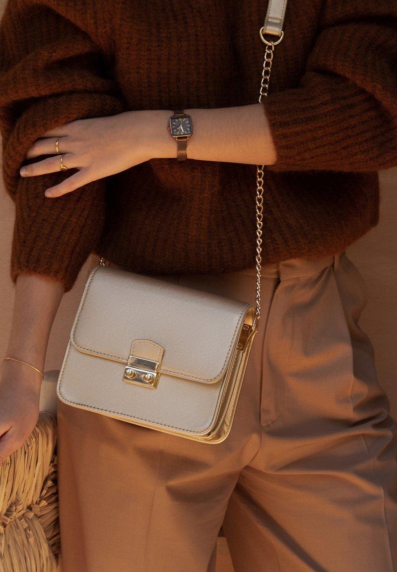 Violet Hamden - Across body bag - gold