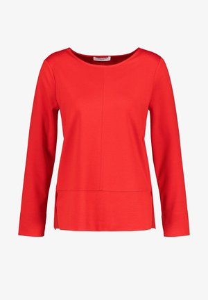 Long sleeved top - chili