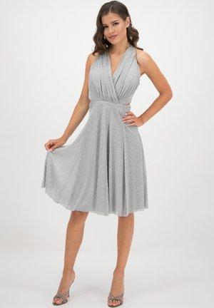 Cocktail dress / Party dress - silber