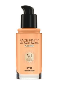 Max Factor - FACEFINITY ALL DAY FLAWLESS FOUNDATION - Foundation - 70 warm sand - 1