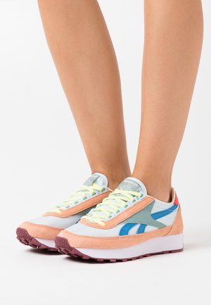PRINCESS - Sneakers - sun baked orange/glass blue/green