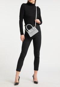 myMo - Handbag - silver metallic - 0
