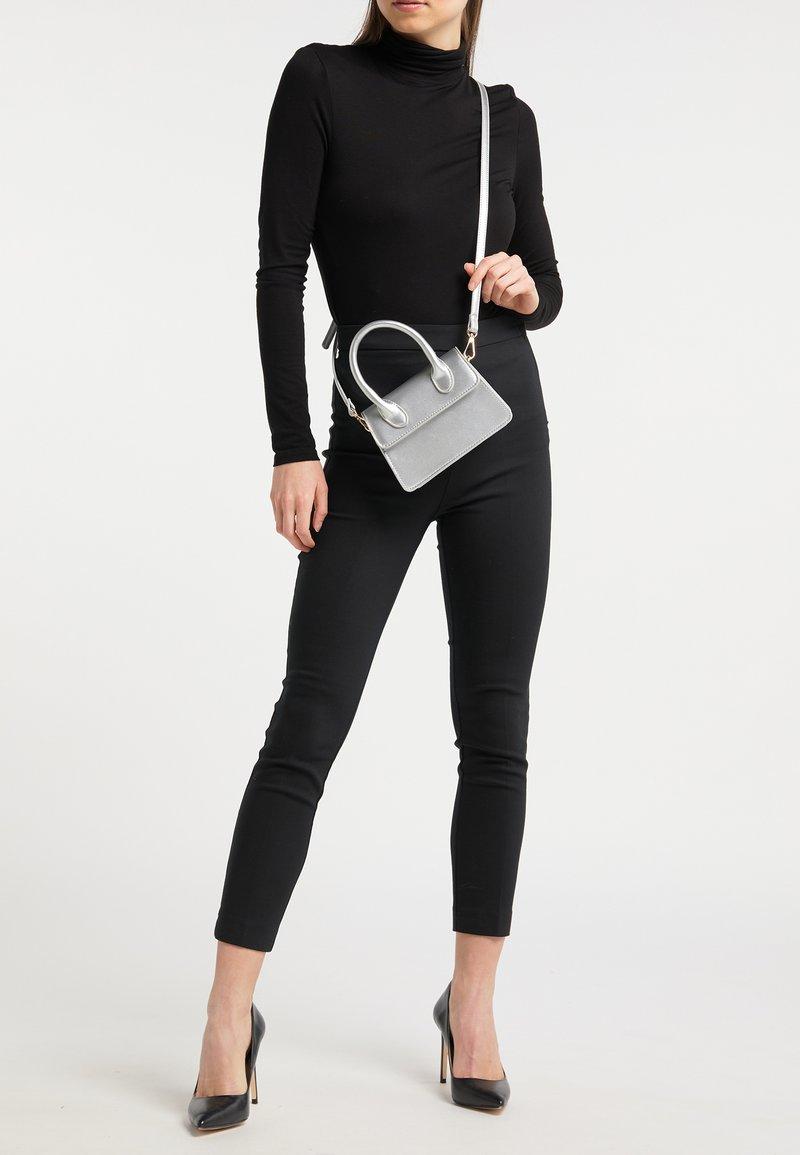 myMo - Handbag - silver metallic