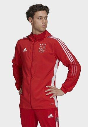 Training jacket - team colleg red