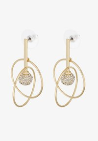 SNÖ of Sweden - LONG EAR CLEAR  - Øredobber - gold-coloured - 3