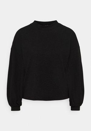 VMALFIE DROP SHOULDER - Pitkähihainen paita - black