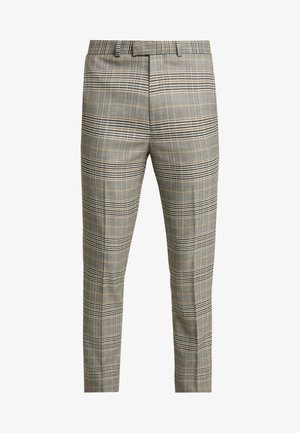 HOUSE CHECK - Suit trousers - grey
