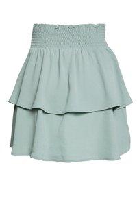ONLY - ONLNOVA LUX SMOCK  - Plisovaná sukně - chinois green - 6