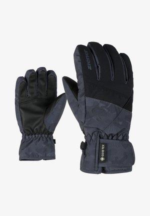 LEIF GTX - Gloves - black grey night camo