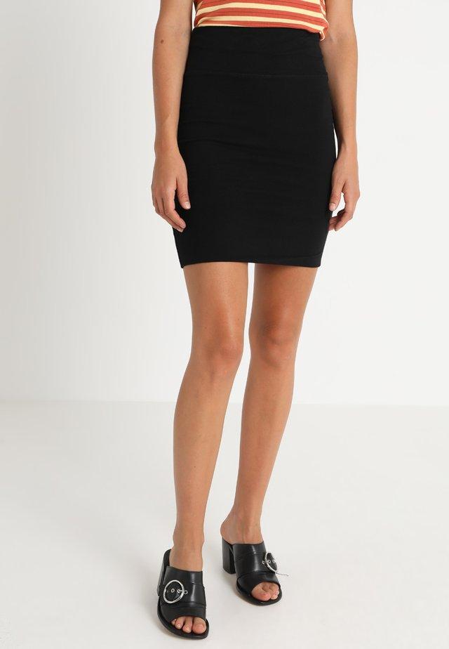RANTINO SKIRT  - Pencil skirt - black