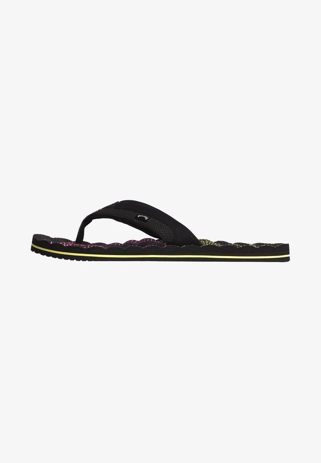 DUNES RESISTANCE  - T-bar sandals - black