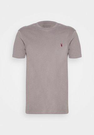 BRACE CONTRAST CREW - T-shirt print - gargoyle grey