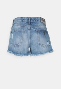 Guess - HOLLY ZIP SHORT - Denim shorts - riky - 1