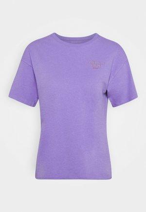 BRANDED BRIGHTS SANTA MONICA TEE - Print T-shirt - purple
