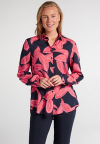 Eterna - MODERN CLASSIC - Button-down blouse - royalblau pink - 0