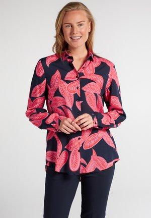 MODERN CLASSIC - Button-down blouse - royalblau pink