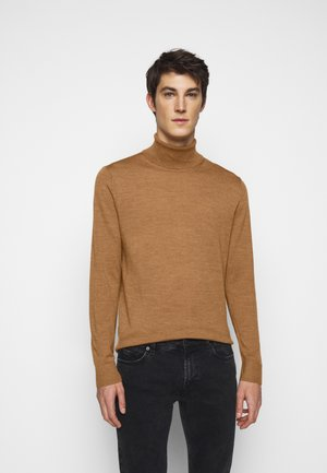 NEW BASIC TURTLE - Jumper - camel melange