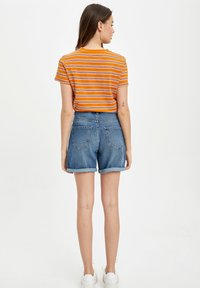 DeFacto - DEFACTO  WOMAN - Denim shorts - blue - 2