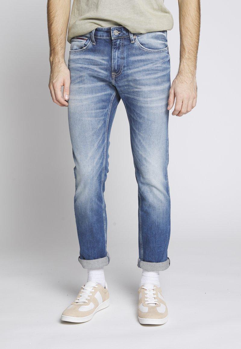 Tommy Jeans - SCANTON - Jeansy Slim Fit - blue denim