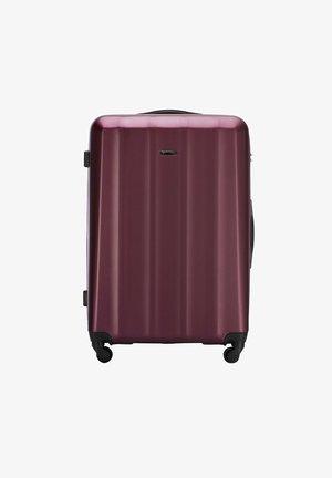 Wheeled suitcase - burgund