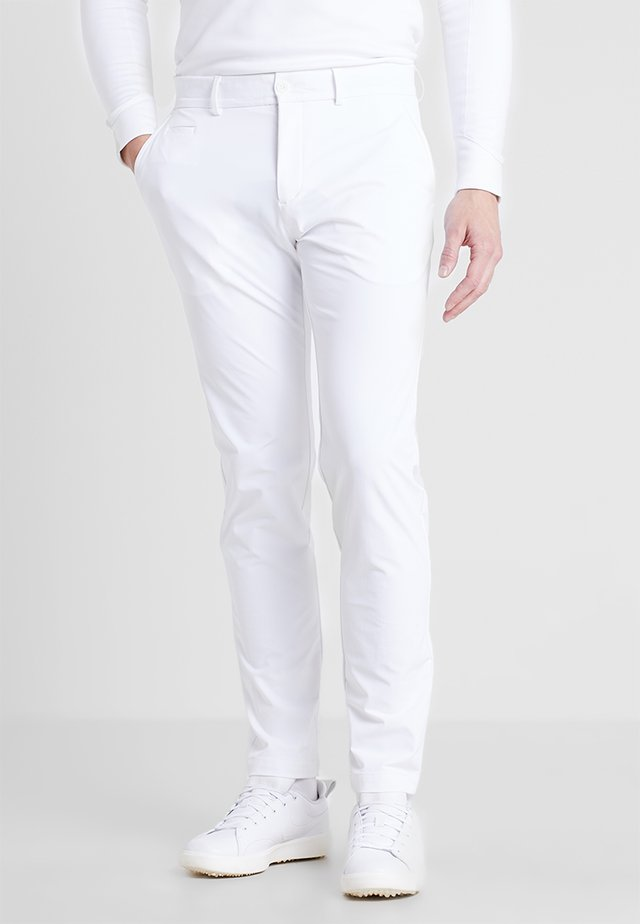 MEN IKE PANT - Pantaloni - white