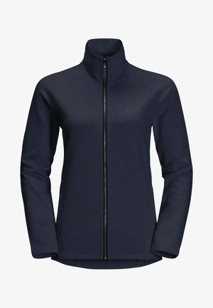 Fleece jacket - midnight blue