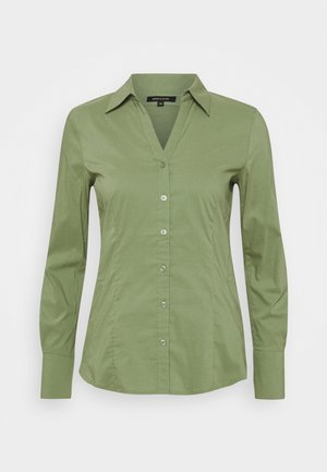Button-down blouse - smaragd