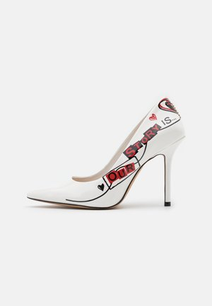 JOHANNA - Escarpins - white/multicolor