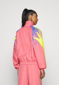 adidas Originals - TRACK - Summer jacket - hazy rose/acid yellow/joy purple - 2