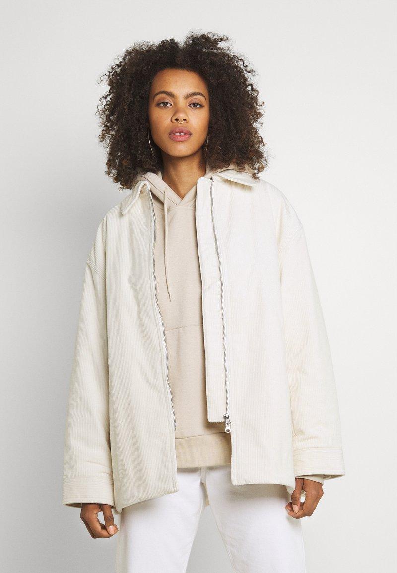 Weekday - TARA JACKET - Light jacket - cream