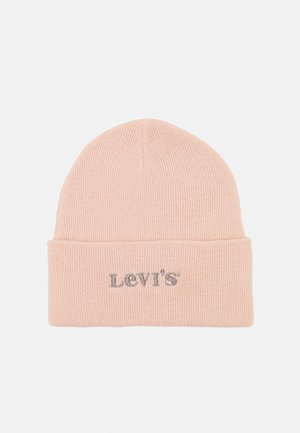 MODERN VINTAGE LOGO BEANIE HOLIDAY EXPRESSION UNISEX - Čepice - light pink