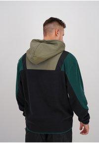 sergio tacchini - BLISS  - Fleece jumper - blk/botnic - 2