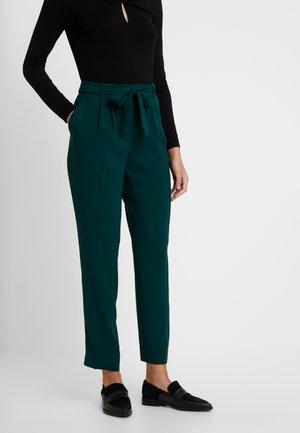 TROUSER - Trousers - emerald green