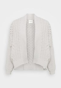 Abercrombie & Fitch - CHENILLE IN CABLE CARDI - Cardigan - cream - 0