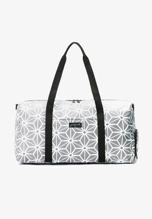 Weekendbag - geometric gray