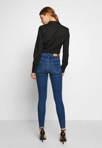 Gina Tricot - HIGHWAIST - Jeans Skinny Fit - dark blue - 2