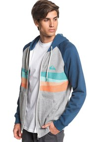 Quiksilver - EVERYDAY - Zip-up hoodie - light grey heather - 3