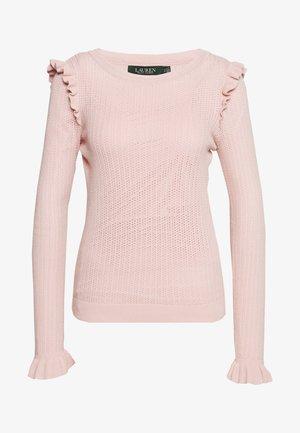 HIGH TWIST - Pullover - pink hydrangea